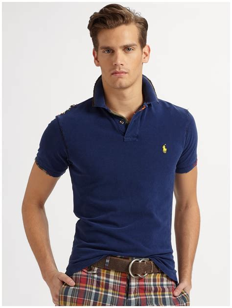 blue polo ralph golf shirt s fashion