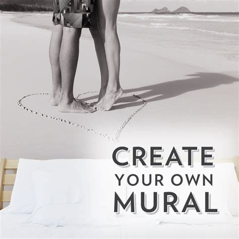 create your own custom wall mural