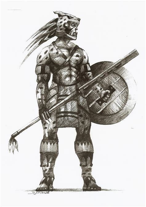 african warrior tattoos inside my mind weapons warriors aztecs warriors