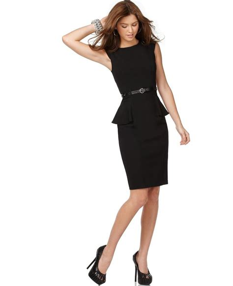 Xoxo Dress xoxo juniors cap sleeve fitted peplum sheath dress