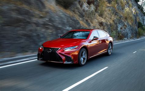 ls for less 2018 lexus ls 500h and ls 500 f sport more is less the