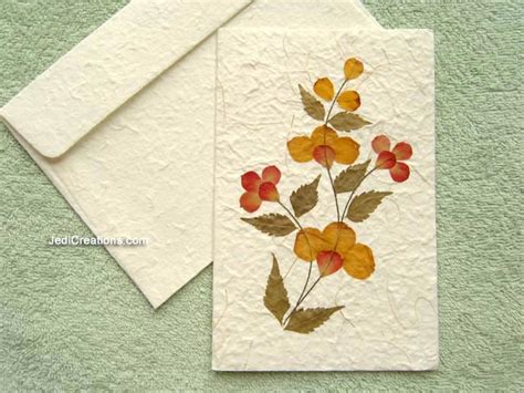 How To Make Greeting Cards With Paper - wholesale greeting cards with pressed flowers jedicreations