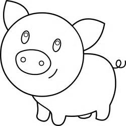 panda pig colouring pages