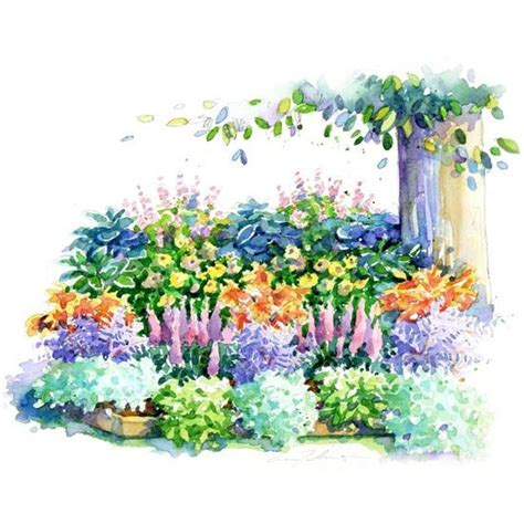 Perennial Flower Garden Plans No Fuss Shade Garden Plan