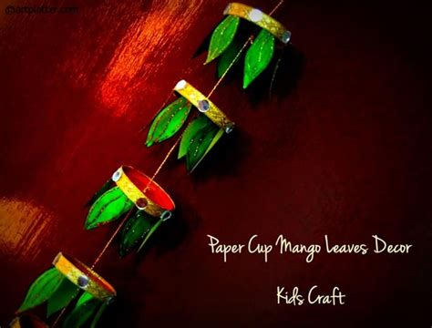 Paper Craft For Diwali - paper cup diwali decor craft platter