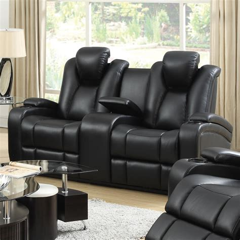 Power Reclining Living Room Set by Delange Power Reclining Living Room Set From Coaster