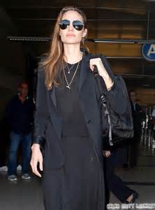Joliea Mourning Anorexic by Arriving On A Flight At Lax