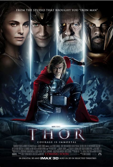 thor film hero photos more thor posters another squatting hero from the