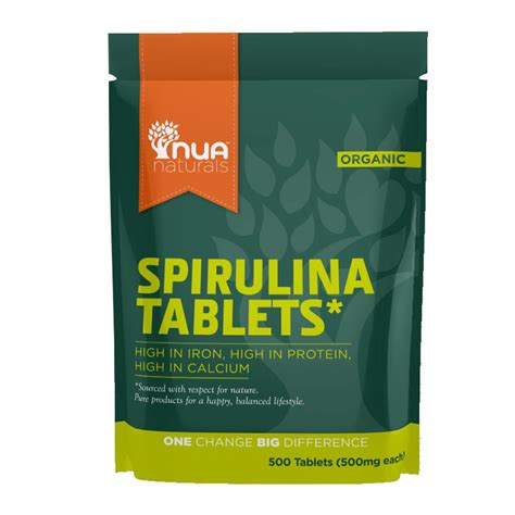 How To Use Spirulina For Detox by Nua Naturals Spirulina Tablets Diet Detox