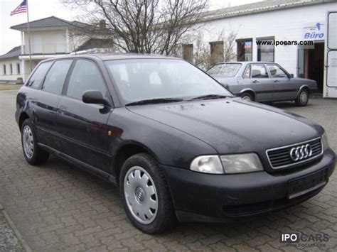 Audi A4 Avant 1998 by 1998 Audi A4 Avant 1 8 Car Photo And Specs
