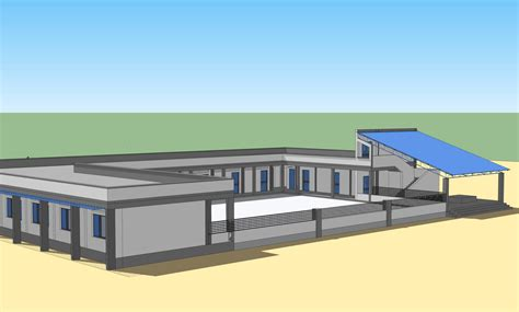 designing a building infor care rdf school building design
