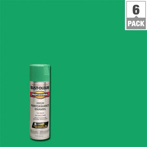 safety green color rust oleum professional 15 oz gloss safety green spray