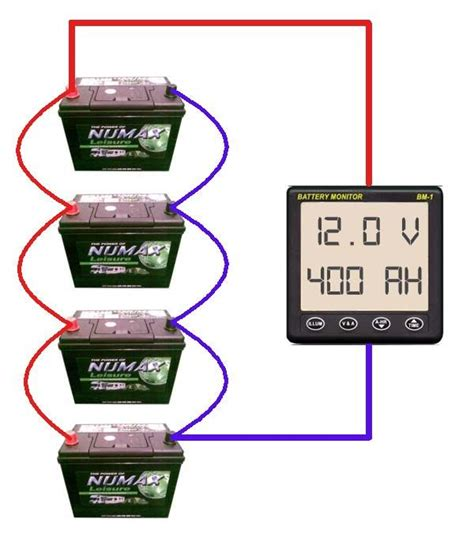 parallel battery bank wiring diagram must do