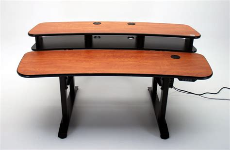 Variable Desk by Ergo Duet 68 Dual Surface Height Adjustable Desk With