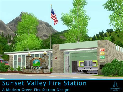 Small Backyard Houses Mod The Sims Sunset Valley Fire Station