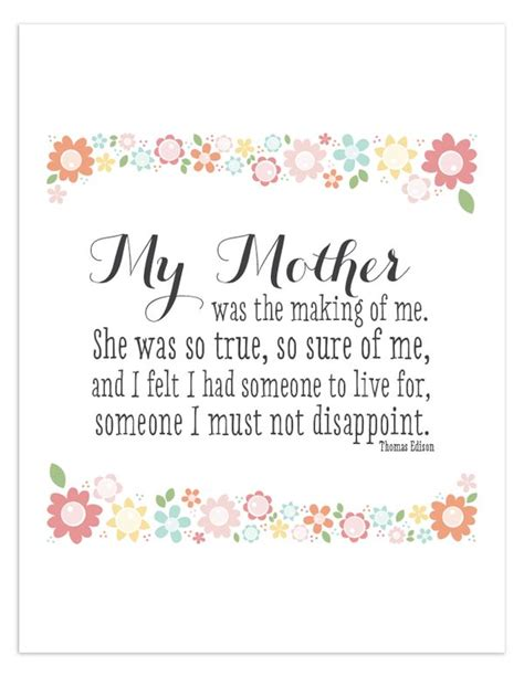 printable quotes to live by free printable quote for mothers day typo pinterest