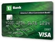 td bank business credit card td debit card advance