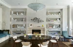 floating shelves in living room home