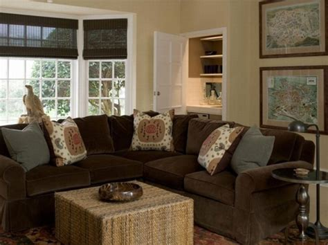 what goes with brown couches braunes sofa ein quot must have quot zu hause