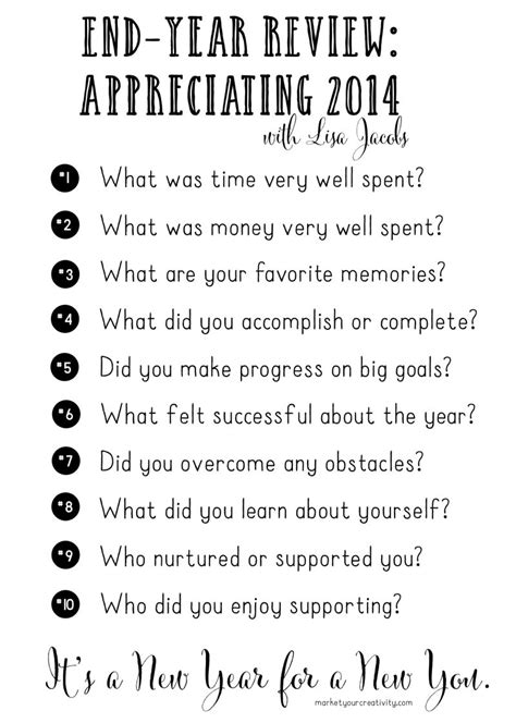 10 questions about new year a new year for a new you a 7 day annual review