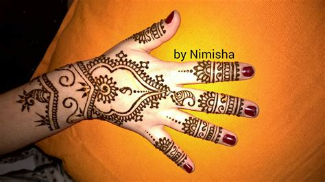 henna tattoo hand berlin henna motive leicht makedes