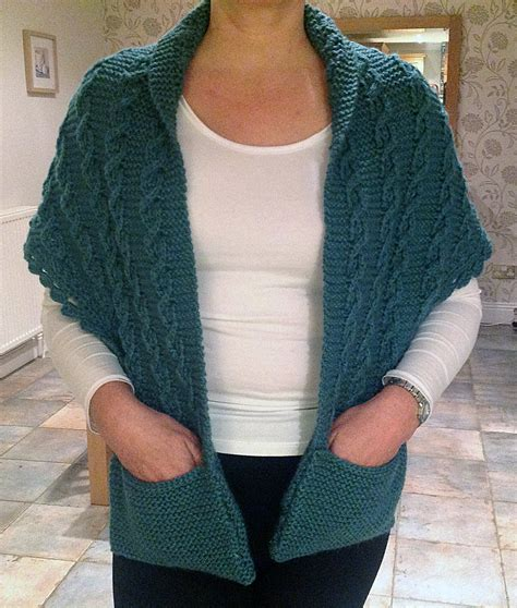 knitting pattern for scarf with pockets pocket wrap knitting patterns in the loop knitting