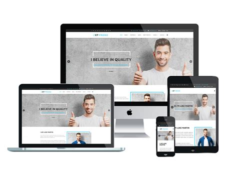 What Is A Responsive Template by Et Prome Free Responsive Personal Joomla Templates