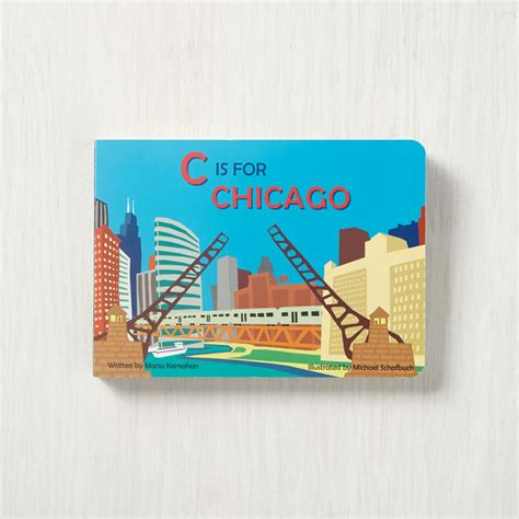 board book books c is for chicago board book by kernahan the land