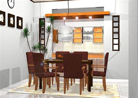 Meja Untuk Rumah Makan contoh model meja makan minimalis modern desain denah