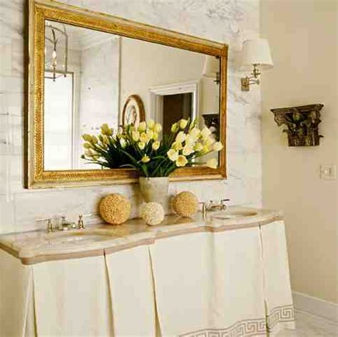 Gold Bathroom Mirror Decor Ideasdecor Ideas Gold Bathroom Mirror