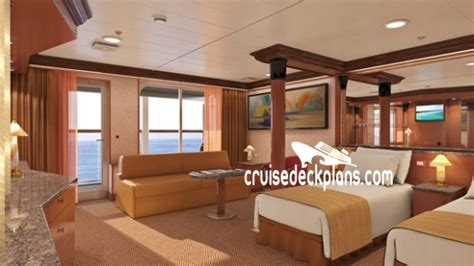 carnival cruise suites floor plan carnival deck plans diagrams pictures