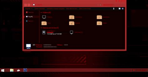 themes for windows 10 jarvis red jarvis theme for windows 8 1 windows10 themes i