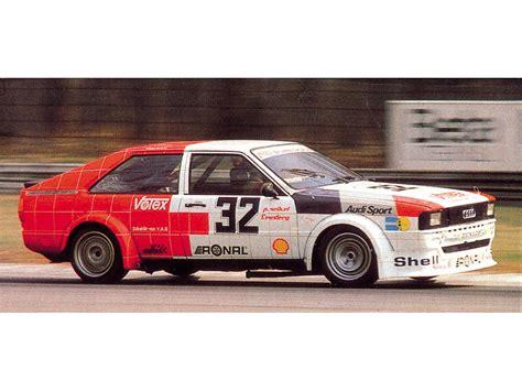 audi coupe cars 1981 audi coup 233 gt tourenwagen g2 audi supercars net