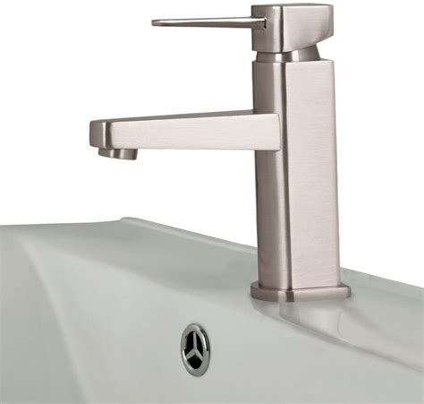 Watermark Kitchen Faucets by Vigo Industries Vg01030bn Single Lever Cast Spout Faucet With 4 5 Inch Reach Brass Construction