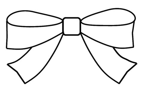 small bow coloring page bow clipart outline to colour 15cm wide this clipart