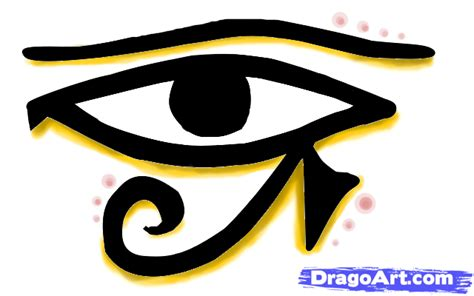 how to draw the eye of horus step by step anime eyes