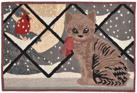 cat area rugs trans frontporch 1496 47 cat grey area rug