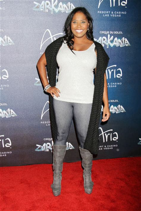 Shar Jones Back In by Shar Jackson In At The Zarkana By Cirque Du Soleil