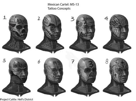 ms 13 tattoo concepts by carlspringer on deviantart