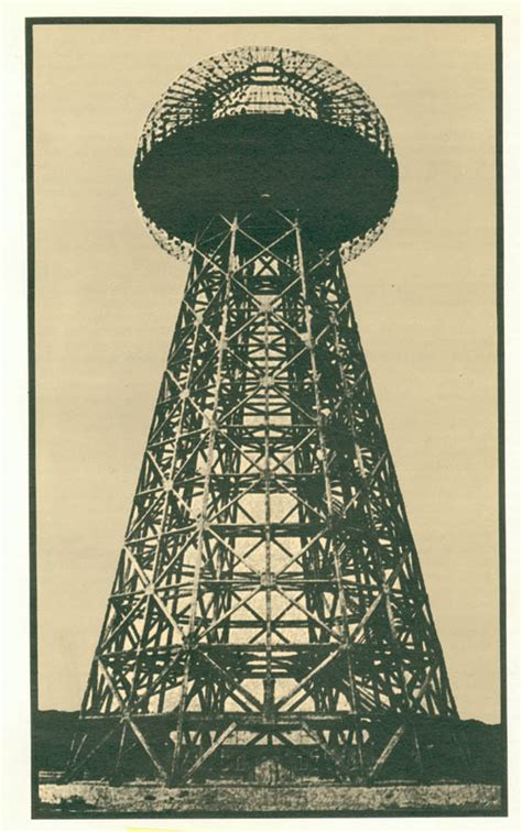tesla tower in shoreham island 1901 1917 meant to