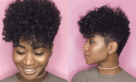 shaped and tapered natural hair cuts for ladies 13 pictures of tapered cut hairstyles according to face shape lisa a la mode