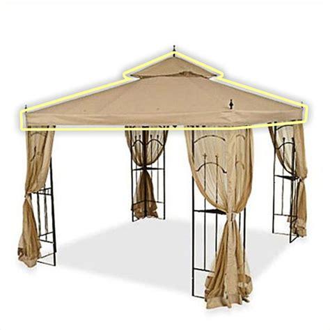 arrow gazebo home depot arrow gazebo replacement canopy cover and