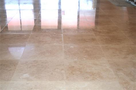 travertine10 paste floor polishing orange travertine