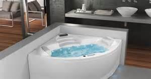 baignoire baln 233 o d angle 2 places saphir par aubade