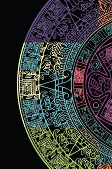 Aztec Calendar Texture Wallpaper Y0569 Iphone 4 4s 5 5s5c 6 6s wallpaper on iphone wallpapers totoro and vera bradley