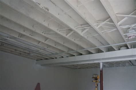 Painting A Ceiling White by White Basement Ceiling Search Basement
