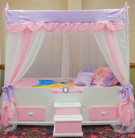 girls twin canopy bed canopy girls twin canopy bed