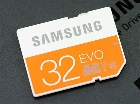 samsung evo sd memory card review 32gb mb sp32d storagereview storage reviews