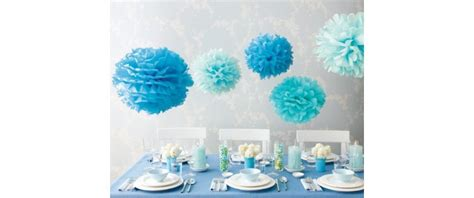 blue decorations blue supplies blue