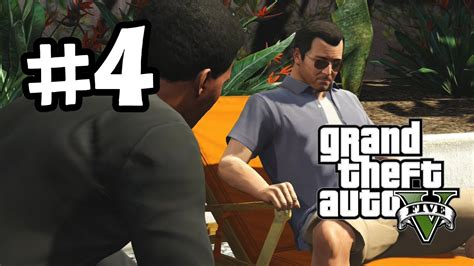 How To Make Money On Grand Theft Auto 5 Online - grand theft auto 5 part 4 walkthrough gameplay need money gta v lets play